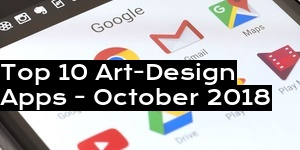 Top 10 Art-Design Apps - October 2018