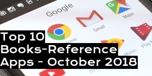 Top 10 Books-Reference Apps - October 2018